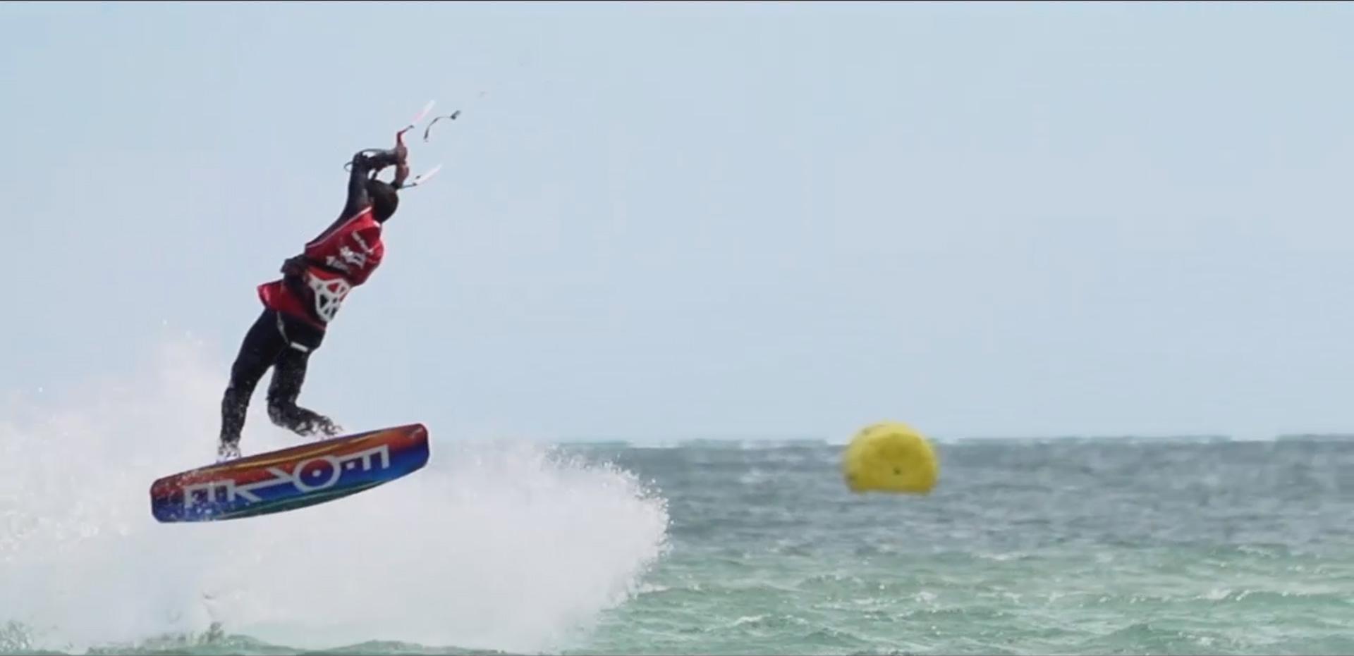 Vidéo de la coupe du Monde Junior de Kitesurf Freestyle 2016