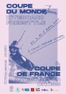 affiche coupe du monde junior de kiteboard