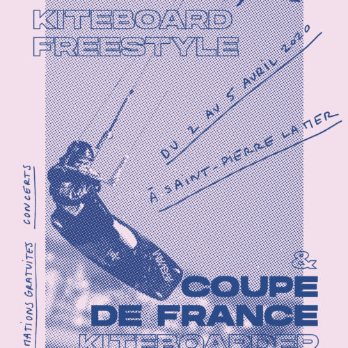 affiche coupe du monde junior de kiteboard